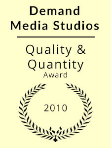 Demand Media Studios Quality & Quantity Award