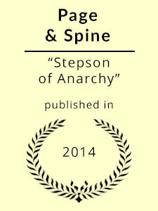 Stepson of Anarchy published in Page & Spine
