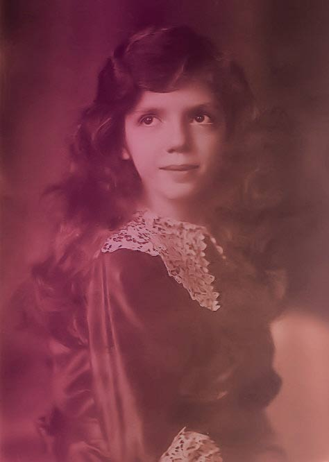 Mafalda of Savoy, portrait as a child