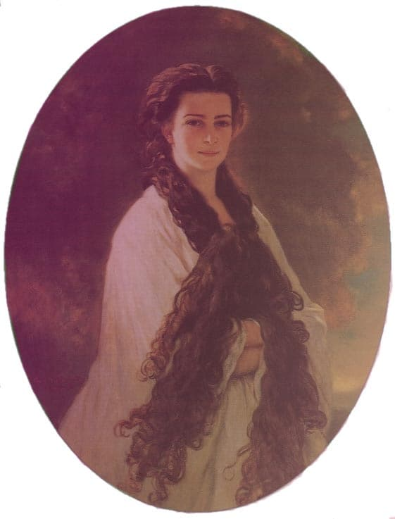 Winterhalter's Portrait of Empress Elisabeth of Austria