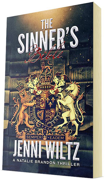The Sinner's Bible: A Natalie Brandon Thriller by Jenni Wiltz