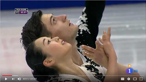 Suto/Boudreau-Audet Short Program2017 Rostelecom Cup: Pairs Short Program