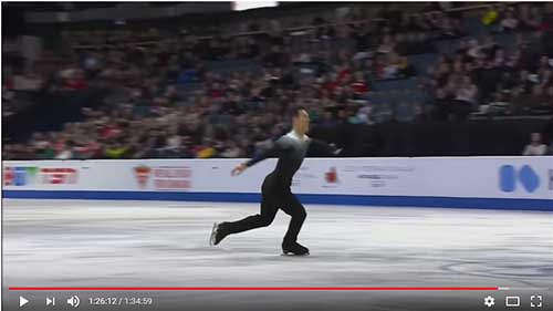 Patrick Chan at the 2017 Skate Canada Men's Short Program