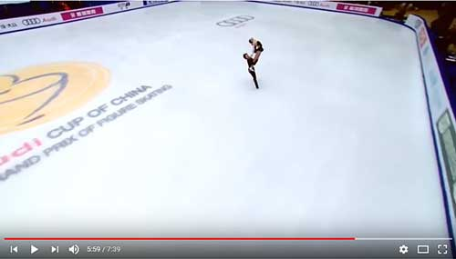 McNamara and Carpenter in the 2017 Cup of China Free Dance