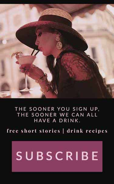 Mailing List: The Sooner You Sign Up, the Sooner We Can All Have a Drink. Free books & drink recipes