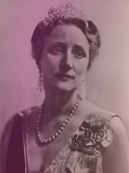 Crown Princess Martha of Norway in 1942, while the Norwegian government was in exile.