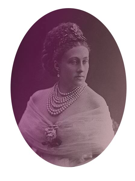 Louise, the Duchess of Manchester in 1884.